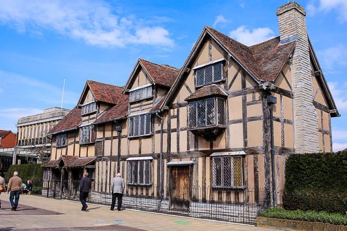 Shakespeare's Birthplace Stratford Upon Avon