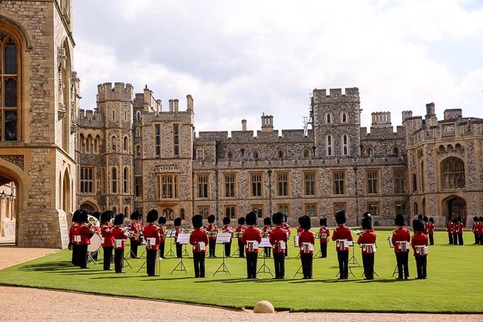 Windsor Castle in Windsor, Berkshire