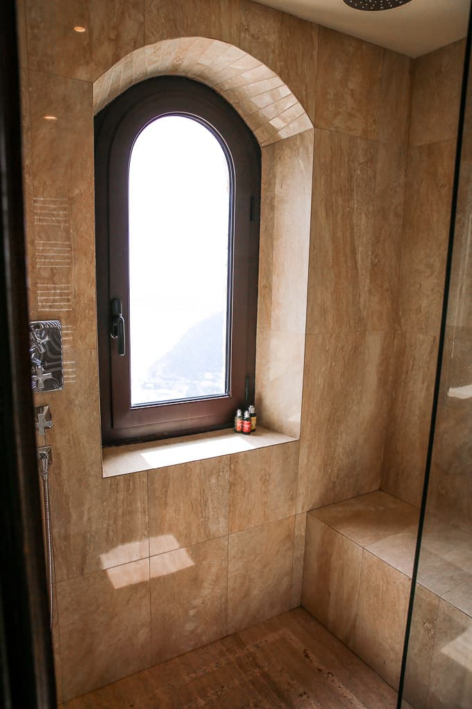 Bathroom at Chateau Eza