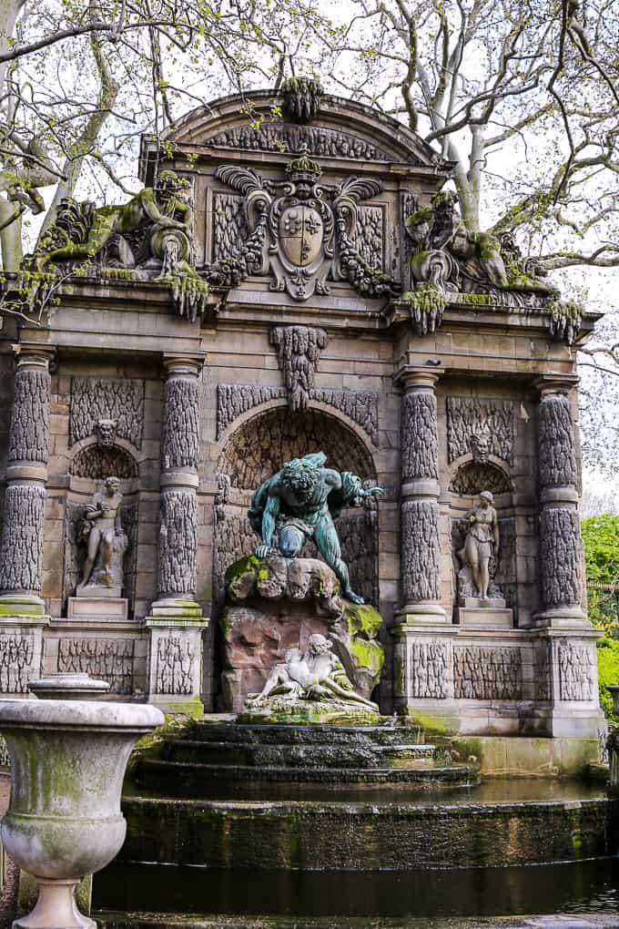 the Fontaine de Medicis, Jardin du Luxembourg, Paris