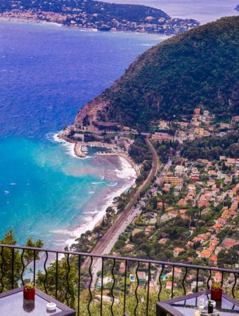 View from Chateau Eza, Eze Village, France