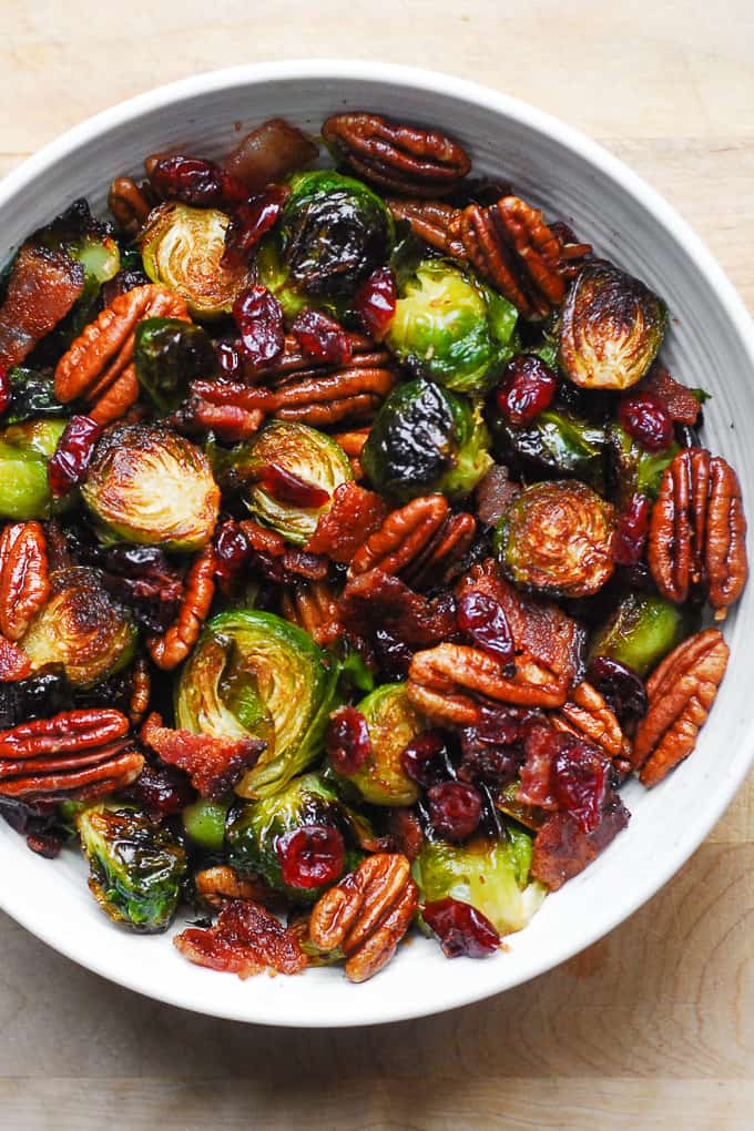 Christmas Brussels Sprouts and Bacon