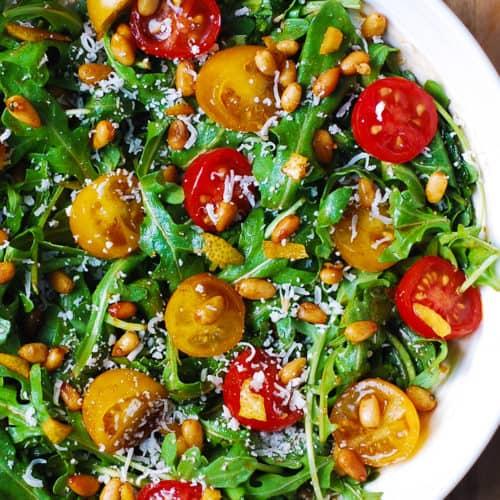 Arugula Tomato Salad